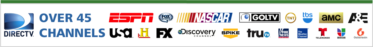 IdleAir Internal - Over 45 DIRECTV Channels
